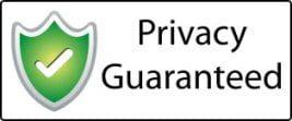 100% privacy